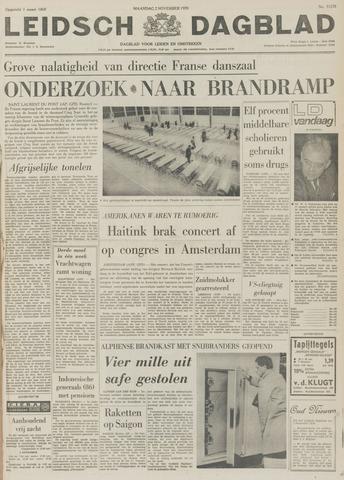 Leidsch Dagblad 1970-11-02