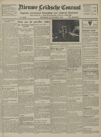Nieuwe Leidsche Courant 1938-11-16