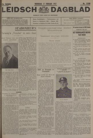Leidsch Dagblad 1937-02-17