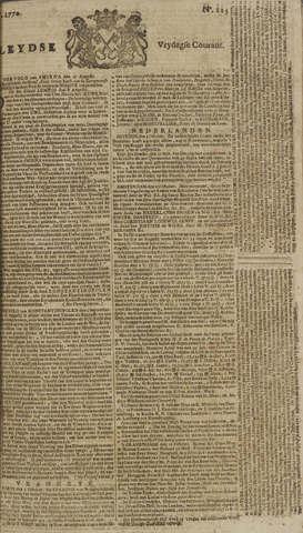Leydse Courant 1770-10-12
