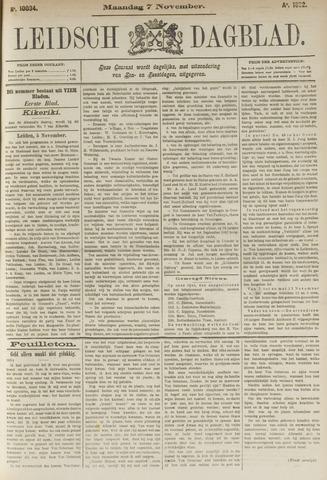 Leidsch Dagblad 1892-11-07
