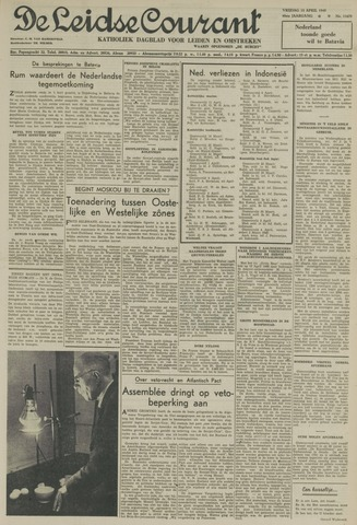 Leidse Courant 1949-04-15