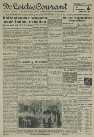 Leidse Courant 1958-05-08