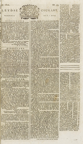 Leydse Courant 1822-05-08