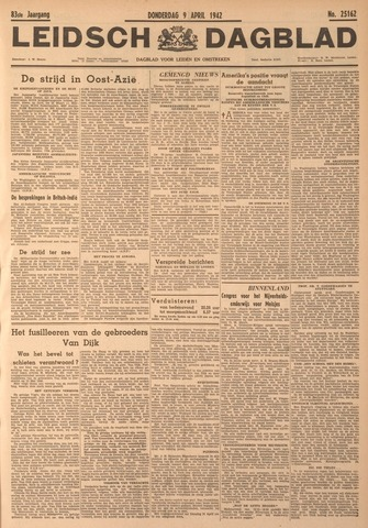 Leidsch Dagblad 1942-04-09