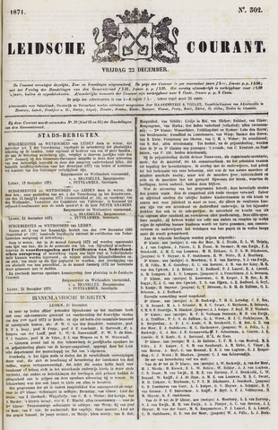 Leydse Courant 1871-12-22