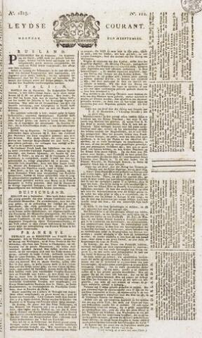 Leydse Courant 1815-09-18