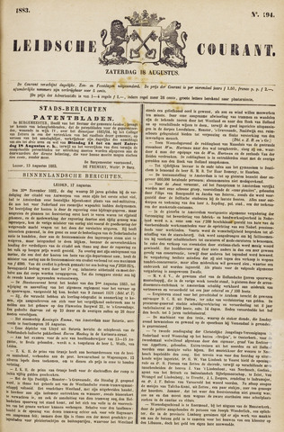Leydse Courant 1883-08-18