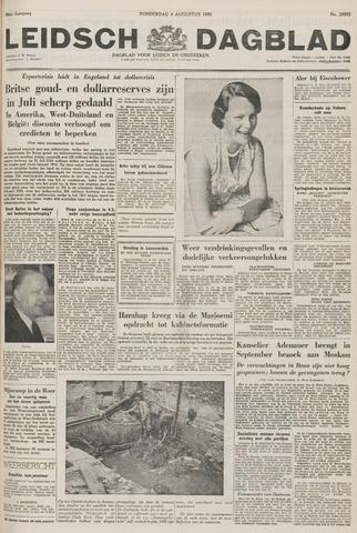 Leidsch Dagblad 1955-08-04