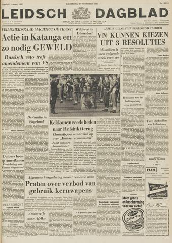 Leidsch Dagblad 1961-11-25