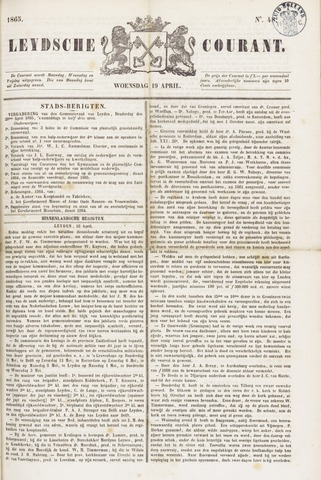Leydse Courant 1865-04-19