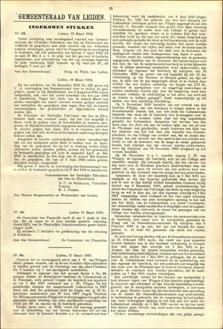 Handelingen van de Raad 1916-03-13