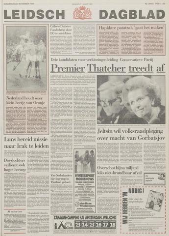 Leidsch Dagblad 1990-11-22