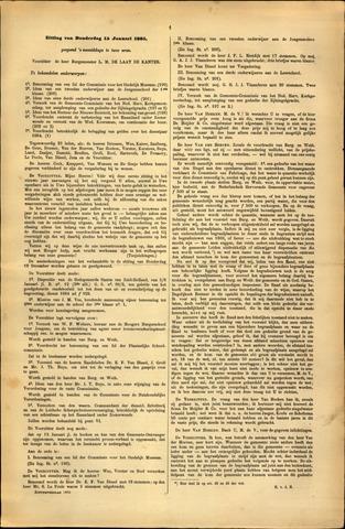 Handelingen van de Raad 1885-01-15