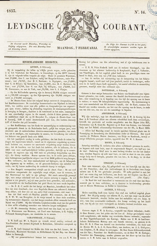 Leydse Courant 1853-02-07