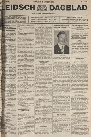 Leidsch Dagblad 1932-08-04