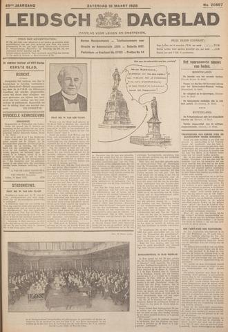 Leidsch Dagblad 1928-03-10