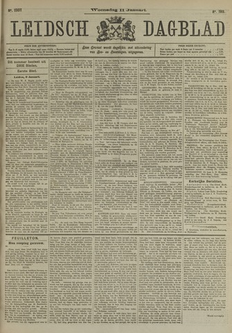 Leidsch Dagblad 1911-01-11