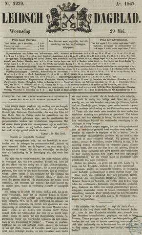Leidsch Dagblad 1867-05-29