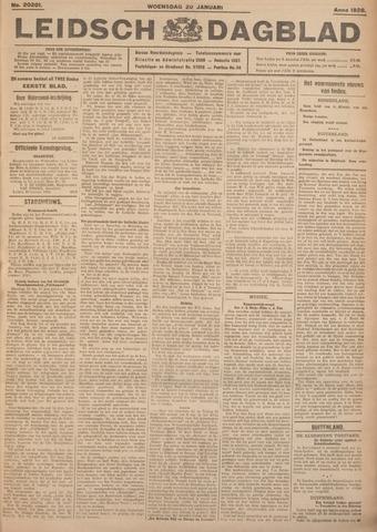 Leidsch Dagblad 1926-01-20