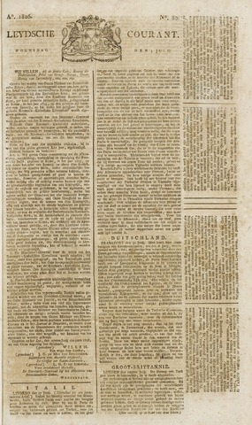 Leydse Courant 1826-07-05