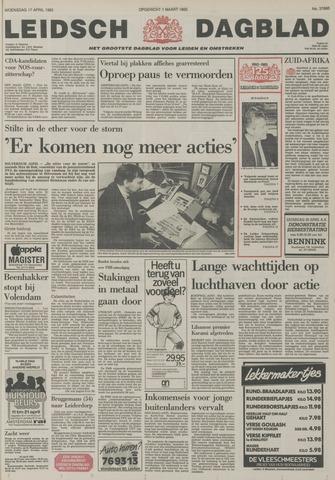 Leidsch Dagblad 1985-04-17