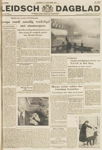 Leidsch Dagblad 1954-12-18