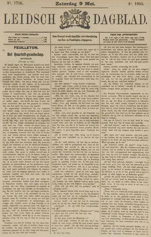 Leidsch Dagblad 1885-05-09