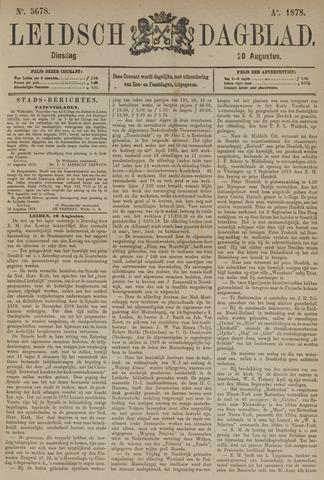 Leidsch Dagblad 1878-08-20