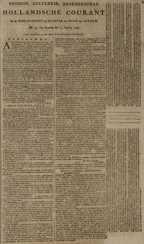 Leydse Courant 1795-08-31