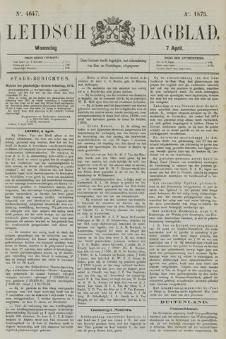 Leidsch Dagblad 1875-04-07
