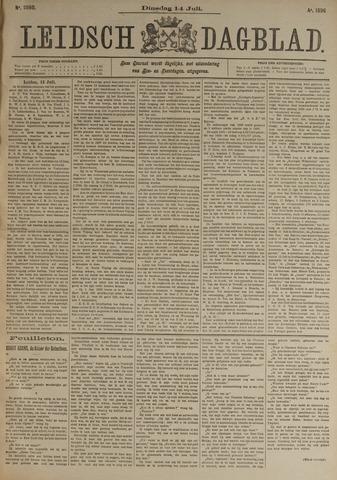 Leidsch Dagblad 1896-07-14