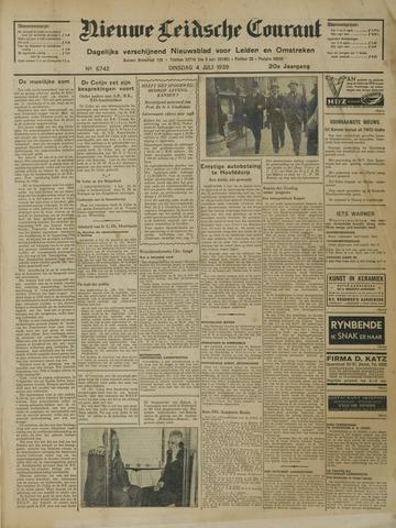 Nieuwe Leidsche Courant 1939-07-04