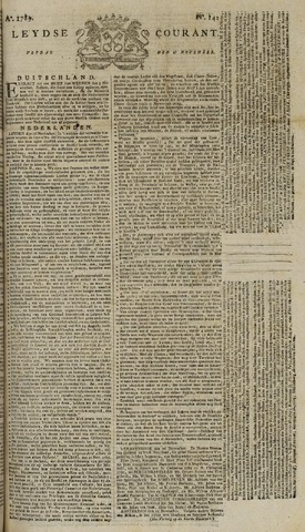 Leydse Courant 1789-11-27