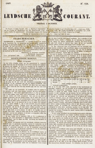 Leydse Courant 1869-10-01