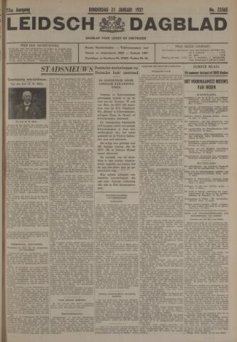 Leidsch Dagblad 1937-01-21