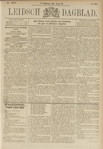 Leidsch Dagblad 1893-04-21