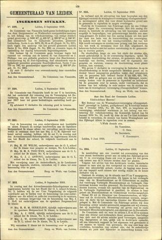 Handelingen van de Raad 1918-09-03