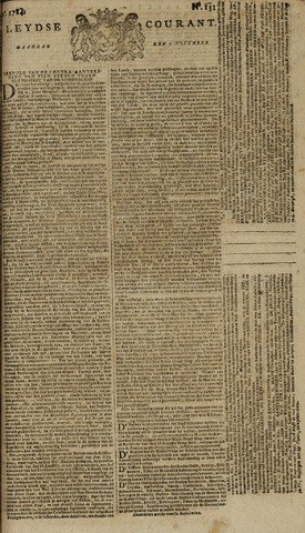 Leydse Courant 1784-11-01
