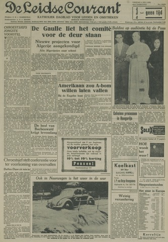Leidse Courant 1958-07-04