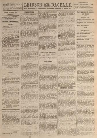 Leidsch Dagblad 1921-01-15