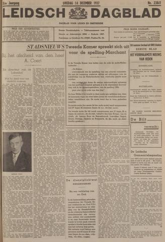 Leidsch Dagblad 1937-12-14