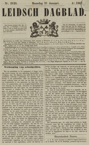 Leidsch Dagblad 1867-01-21