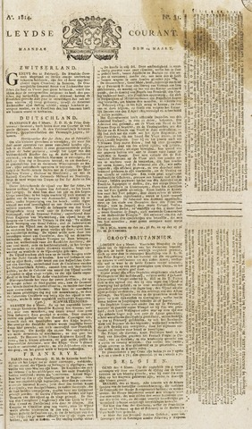 Leydse Courant 1814-03-14