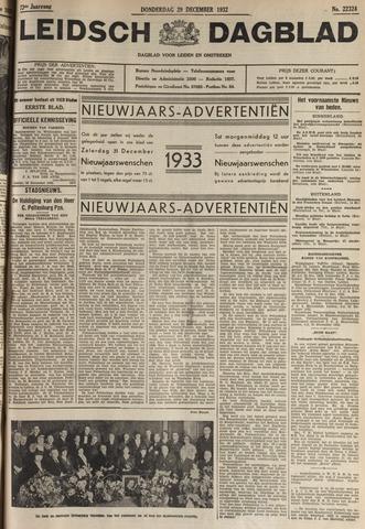 Leidsch Dagblad 1932-12-29