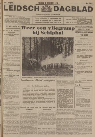 Leidsch Dagblad 1938-12-09
