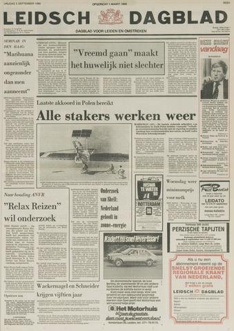 Leidsch Dagblad 1980-09-05