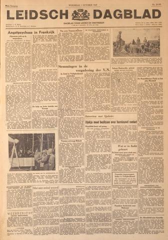 Leidsch Dagblad 1947-10-01
