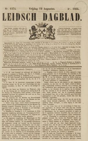 Leidsch Dagblad 1864-08-12