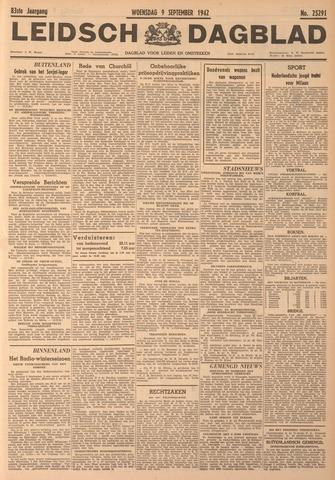 Leidsch Dagblad 1942-09-09